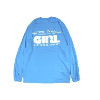 IGNITION SKATESHOP x GIRL L/S T-SHIRTS